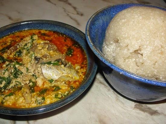 Nigerian Meal, food