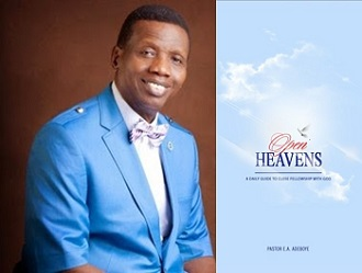 Open Heaven 31 December 2018 Prayer Points on Today – Vessels Used of God