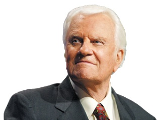 Billy Graham's Devotional 21 March 2018 – Satisfaction in Him