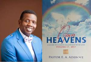 Open Heavens 3rd March 2018 Saturday — A Heart Of Gratitude