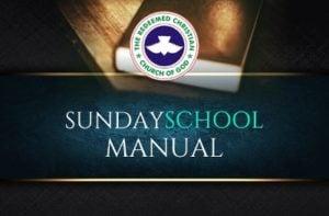 RCCG Sunday School Manual 2 September 2018