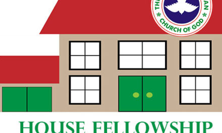 RCCG House Fellowship Manual Sunday, 29th April, 2018 Lesson 35 – The Fear Of The Lord