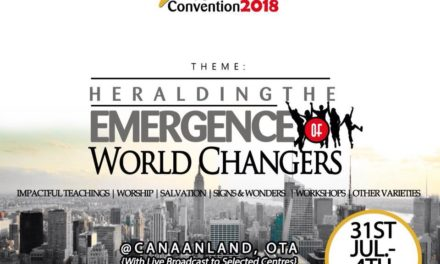 "Watch LIVE: 2018 Winners' Youth Alive Convention (IYAC) ""Heralding The Emergence Of World Changers"""