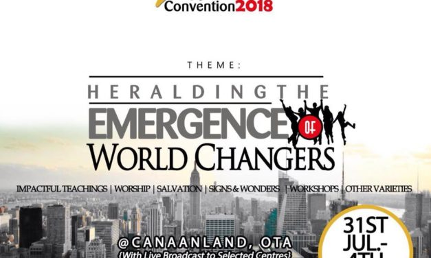 """Watch LIVE: 2018 Winners' Youth Alive Convention (IYAC) """"Heralding The Emergence Of World Changers"""""""
