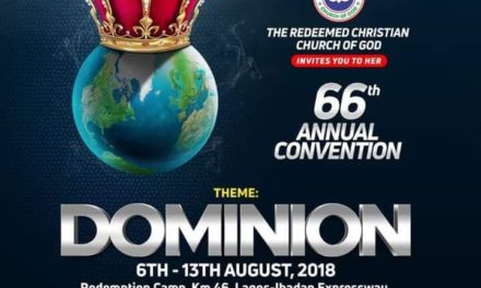 RCCG 66th Annual Convention 2018 (Live Broadcast HERE)