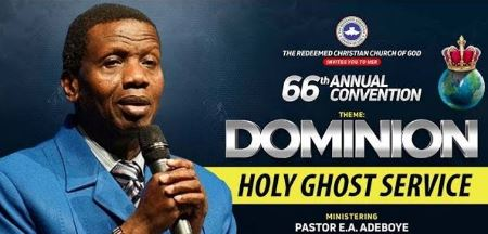 """Watch LIVE: RCCG August 2018 Holy Ghost Service – """"Dominion"""""""