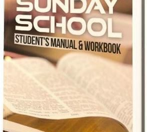 RCCG Sunday School STUDENT Manual 21 October 2018, Lesson 8