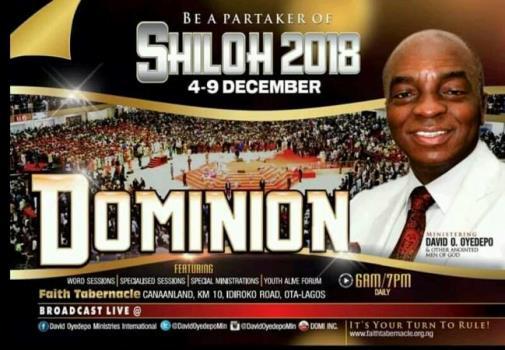 Watch SHILOH 2018 LIVE Broadcast – Dominion