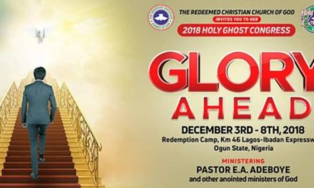 RCCG Holy Ghost Congress 2018 LIVE with Pastor E. A. Adeboye