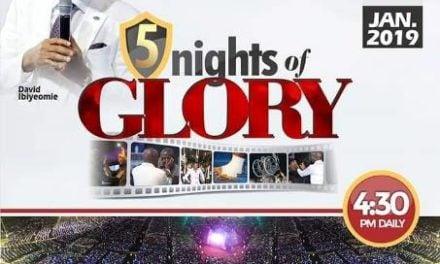 Watch LIVE: 5 Nights of Glory 2019