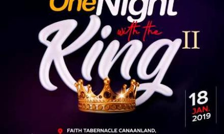 Watch Winners' Chapel LIVE: 2019 ONE NIGHT WITH THE KING Part III