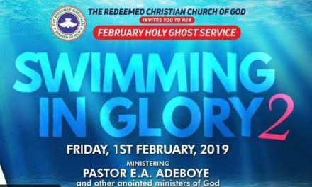 Watch LIVE: RCCG Holy Ghost Service February 2019
