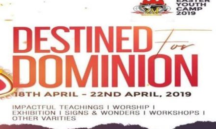 Watch LIVE: Winners' Easter Youth Camp 2019 – Destined For Dominion