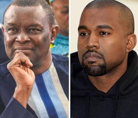 Kanye West, Mike Bamiloye