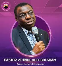 Pastor Kehinde Adegbolahan