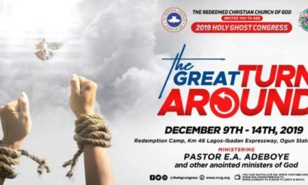 RCCG Holy Ghost Congress 2019 Live Broadcast