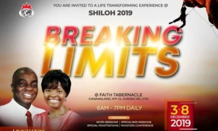 Shiloh 2019 Programme Schedule – Watch Live