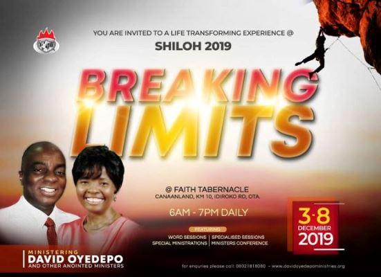 Shiloh 2019 Breaking Limits