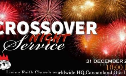 Watch LIVE: Winners Crossover Night Service 2019-2020