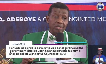Wonderful By Pastor E. A. Adeboye