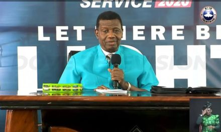 Let There Be Light (Part 8) By Pastor E. A. Adeboye
