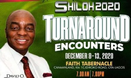 Shiloh 2014, Heaven On Earth Day 1 – Bishop David Oyedepo