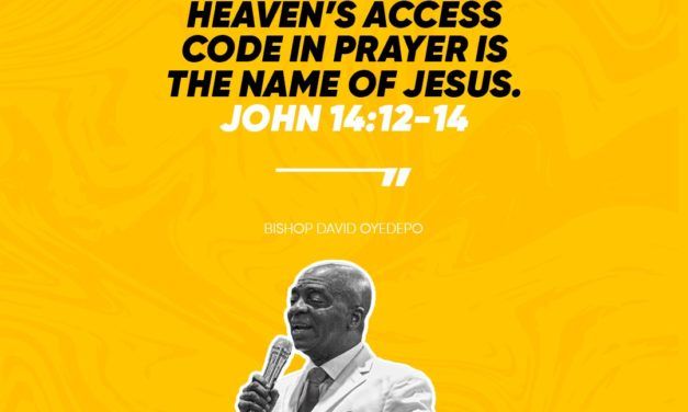 How To Cultivate The Boldness Required On The Prayer Altar By David Oyedepo