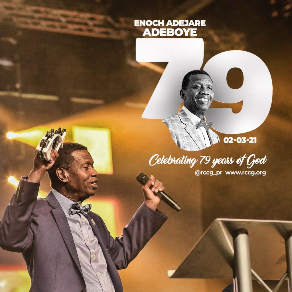 Pastor Adeboye Birthday at 79