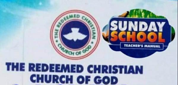 RCCG SUNDAY SCHOOL TEACHER MANUAL SUNDAY