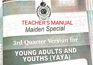 RCCG SUNDAY SCHOOL MANUAL FOR YOUNG ADULTS AND YOUTHS (YAYA)