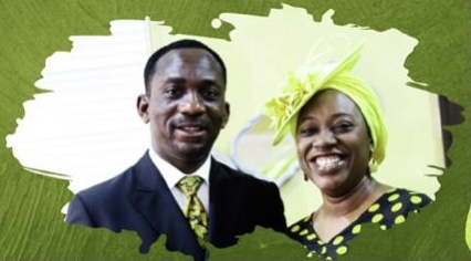 Dr Paul Enenche and Becky